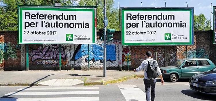 Referendum Lombardia e Veneto, un altro schiaffo al cosiddetto establishment*